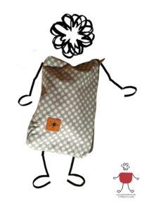 Wie man die Kluft überbrückt. Eine Geschichte der Taschendame Tuana von Maike Grunwald.